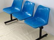 เก้าอี้โพลีแบบ 3 ที่นั่งเพียง 1600 บาท สนใจโทร 0993260005 คุณเล็ก