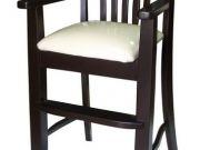 เก้าอี้ไฮแชร์ ไม้ยางพารา DPC-122