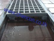 frp steel swimming overflow plastic grating ตะแกรง รางระบายน้ำ ไฟเบอร์ ตะแกรง อุปกรณ์ สระว่ายน้ำ พลา