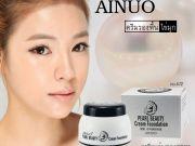 Ainuo no472 pearl cream foundation ♥ ครีมรองพื้น ไข่มุก