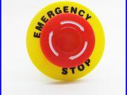 อีเมอเจนซี่สวิทซ์ สวิทซ์ตัดไฟ สวิทซ์ปิดฉุกเฉิน Emergency Switch Push Button Switch AC 660V 10A