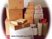 ขายกล่องไปรษณีย์ ซองน้ำตาล ซองขยายข้าง ซองกันกระแทก ถุงฝากาว 1500 ส่งฟรี