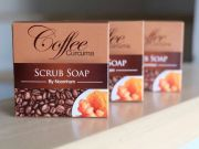 Coffee Curcuma Scrub Soap By noomham