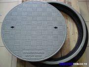 PSD cast iron fiberglass Manhole Cover frp Steel Grating ฝาบ่อเหล็กหล่อครอบท่อระบายน้ำ แมนโฮลเกรตติ้