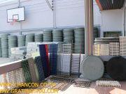 PSD Fiberglass FRP Manhole Cover Steel Grating ฝาท่อแมนโฮลปิดบ่องานระบบบำบัดน้ำเสียตะแกรงน้ำล้น