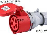 5 Poles 400V16A32A IP44