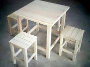 จำหน่ายโต๊ะเก้าอี้ไม้สนนอกราคาถูก ในราคาโรงงาน เราผลิตและจำหน่ายเอง ทำให้ลูกค้าสามารถติดต่อสอบถามและ