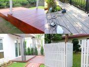 จำหน่ายและติดตั้งงานไม้ ไม้เทียมไม้เทียมทำพื้น ไม้ระแนง 0994464179