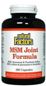 ขาย MSM Joint Formula with MSM & Glucosamine & Chondroitin, 180 Capsules ยี่ห้อ